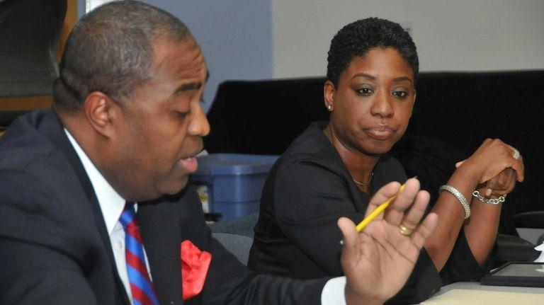 From left: Legislative candidates in Nassau's 2nd district