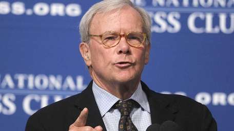 TV journalist and author Tom Brokaw was diagnosed