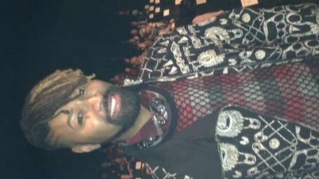 Beyoncé's stylist, Ty Hunter, at the showing of