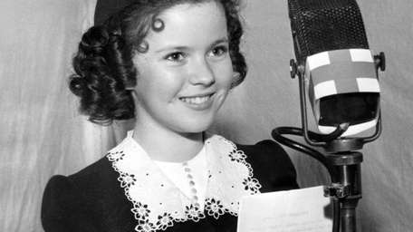 Shirley Temple Black, in 1940.