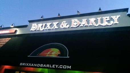Brixx & Barley, specializing in brick-oven pizza and