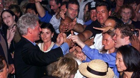 The Hamptons drew President Bill Clinton in the