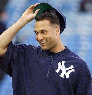 <b>12: </b><br>Times that Derek Jeter hias hit .300 or better in a season (1996, 1998-2001, 2003, 2005-2009, 2012).