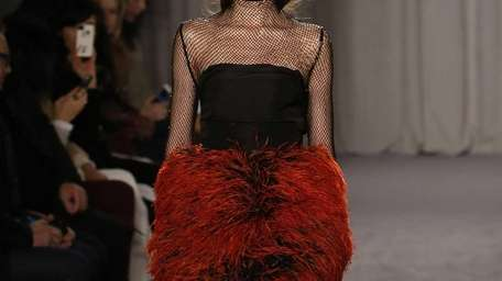 The Marchesa Fall 2014 collection featured evening wear