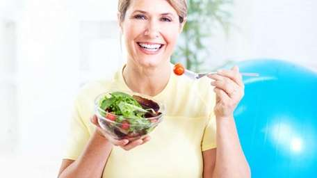 Regular exercise and a healthy diet are two