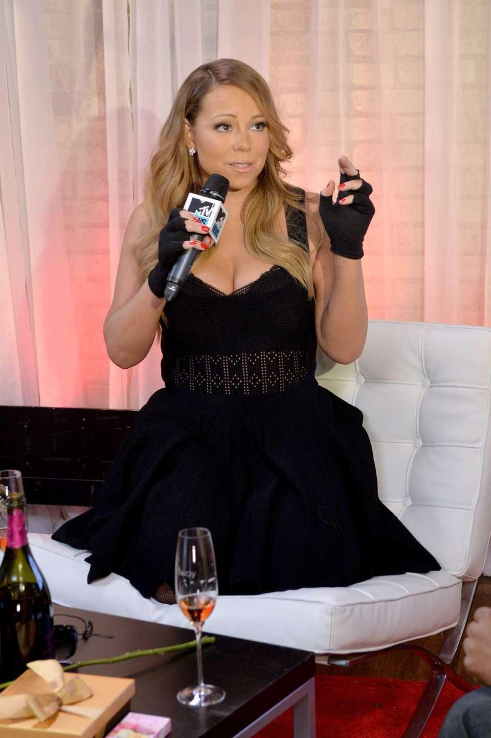 "Mariah Carey attends MTV First: Mariah Carey's ""You're"