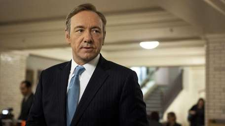 Kevin Spacey in a scene from the Netflix