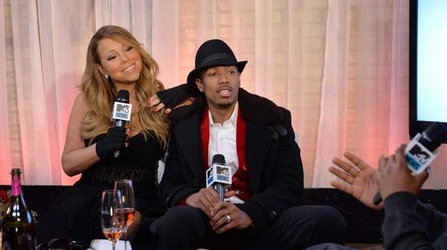 Mariah Carey and Nick Cannon attend MTV First:
