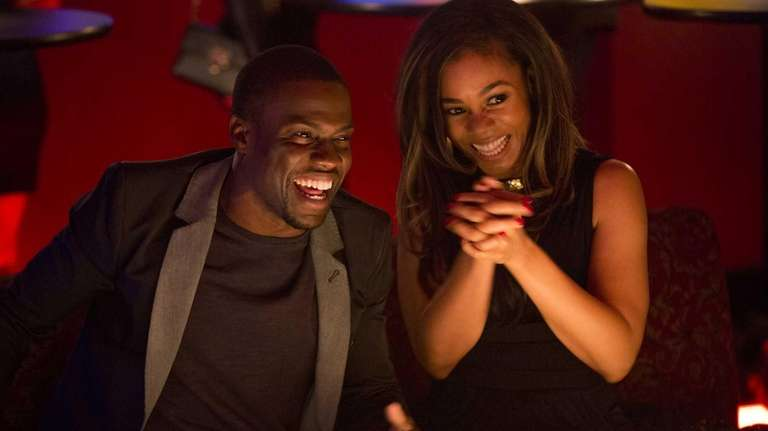 Kevin Hart and Regina Hall in a scene