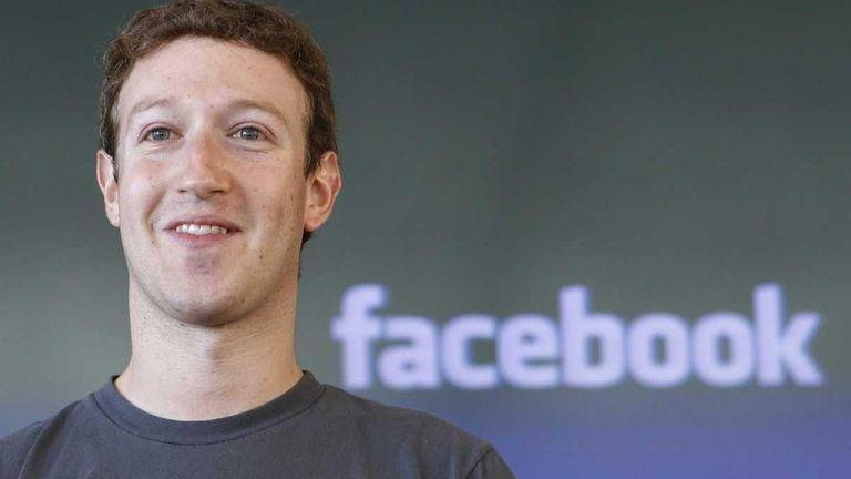 An undated photo of Mark Zuckerberg. On Tuesday,