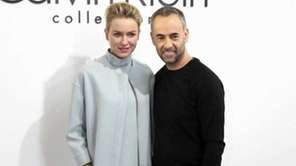 Despite the snow, Naomi Watts arrives at Calvin
