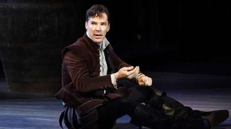 Benedict Cumberbatch as Rosencrantz in