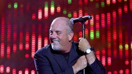 Billy Joel during his July 16, 2008, concert