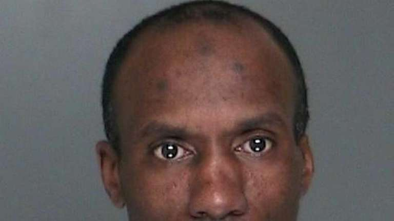 James Johnson, 44, of Coram, was arrested Feb.