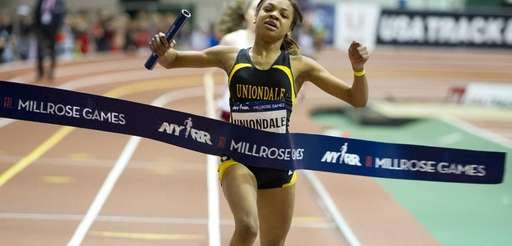 Kristina Cherington of Uniondale wins the Long Island