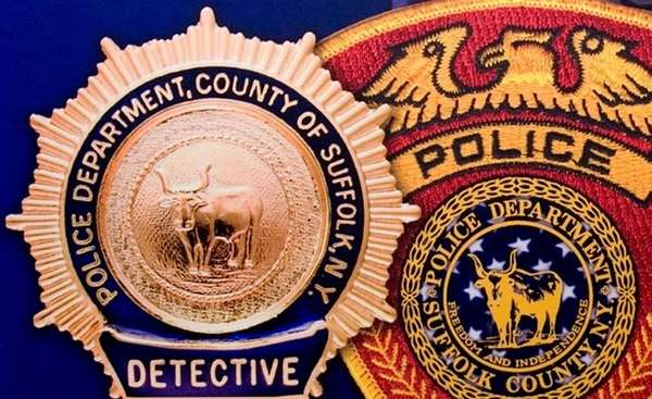This file photo shows the detective shield and