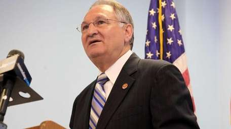 Nassau County Comptroller George Maragos, seen at a
