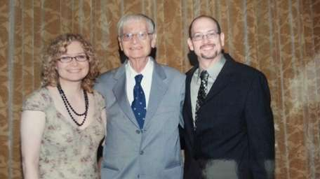 Shown in a family photo, Alfred Weinrib and