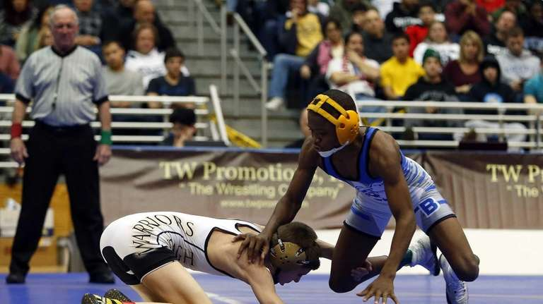 Long Beach's Jacori Teemer competes in the 99