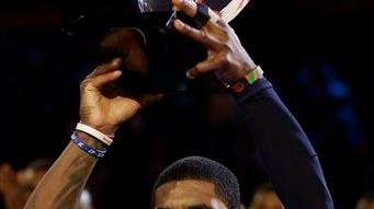The East Team's Kyrie Irving of the Cleveland