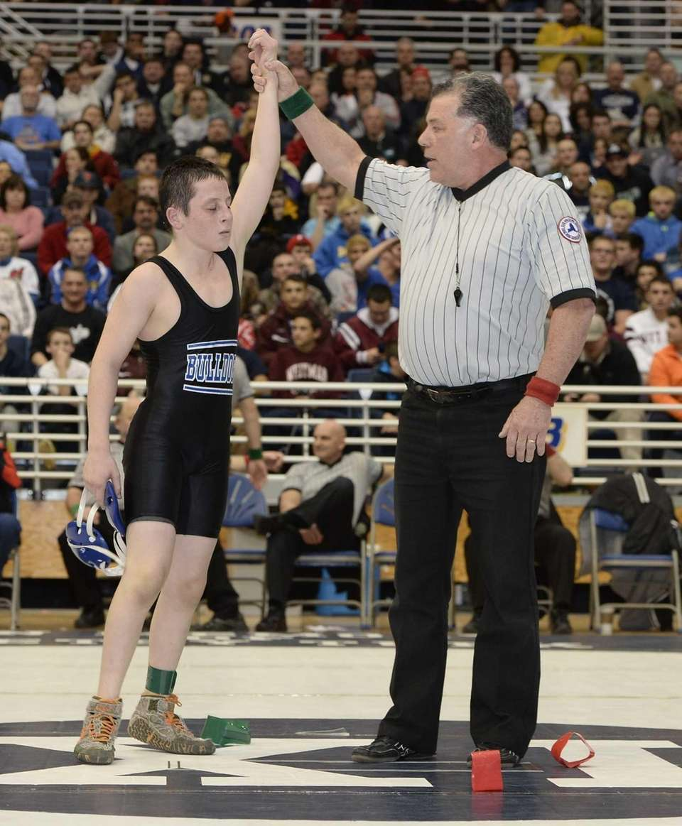 ANTHONY SPARACIONorth Babylon, 99 poundsSuffolk County champion |