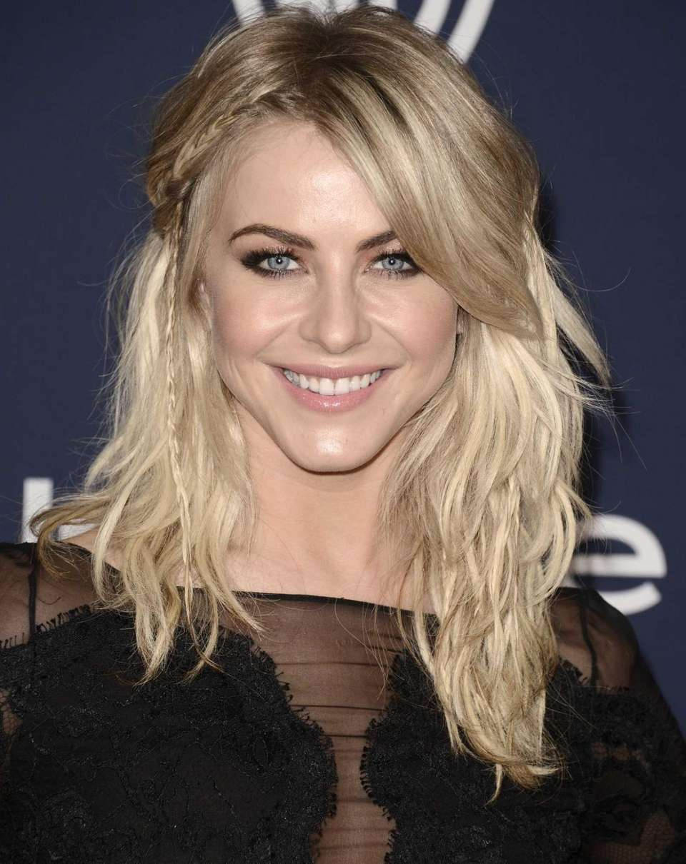 Julianne Hough seen at the 71st annual Golden