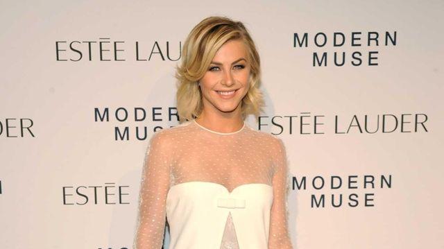 """Actress Julianne Hough attends the Estee Lauder """"Modern"""