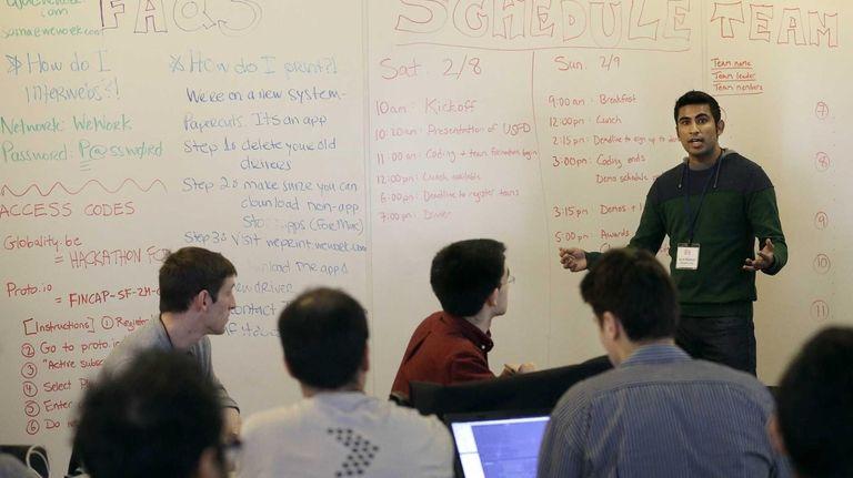 Karim Bhalwani, a manager at Yodlee Interactive, speaks