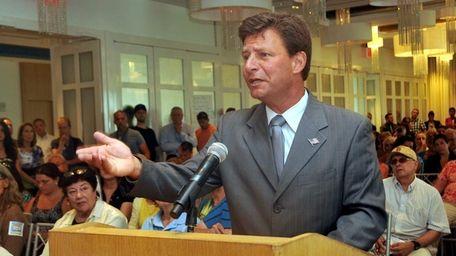 Nassau Legis. David Denenberg (D-Merrick) on July 9,