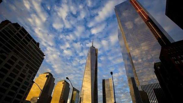One World Trade Center stands with 4 World