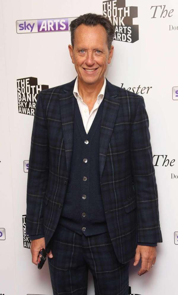 British actor Richard E. Grant arrives for the