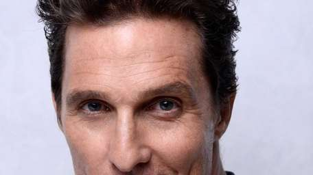 Actor Matthew McConaughey at the 86th Academy Awards