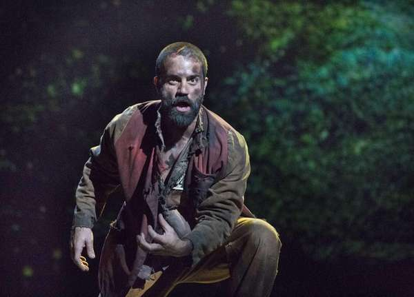 Ramin Karimloo as Jean Valjean in
