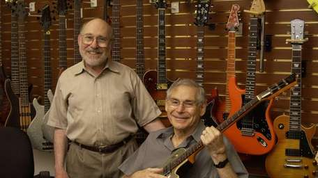 Paul Ash, left, and his older brother, Jerry