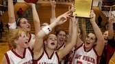Pierson teammates celebrate with their championship hardware after