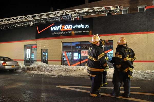 The Huntington Fire Department responded to a Verizon