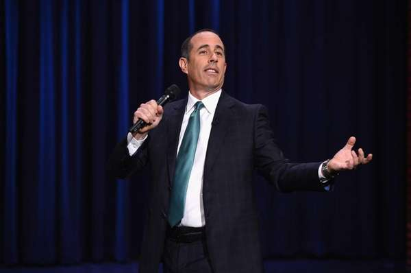 "Jerry Seinfeld visits ""The Tonight Show Starring Jimmy"