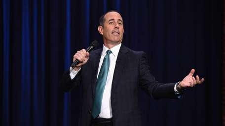 Jerry Seinfeld visits