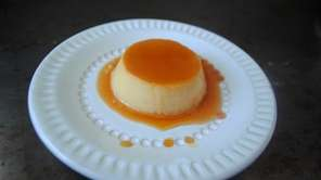 Individual flans baked in small ramekins are easy
