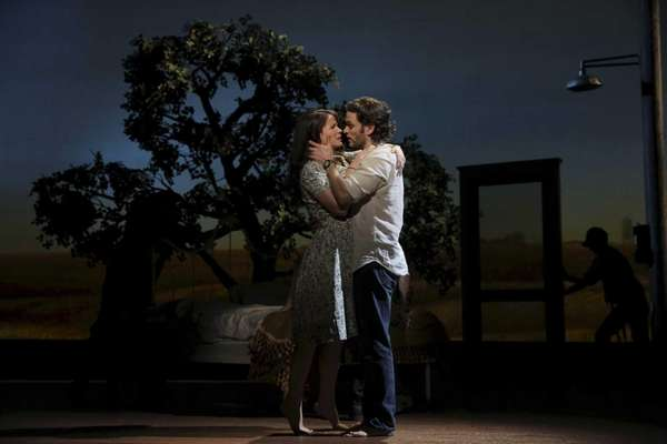 Steven Pasquale and Kelli O'Hara star in this