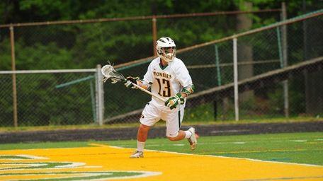 LIU Post men's lacrosse player Matty Beccaris.