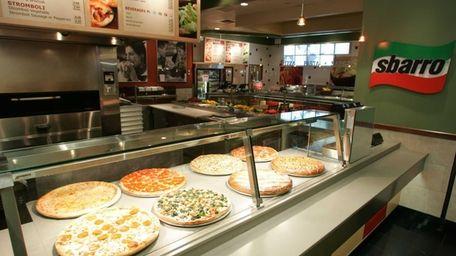 Sbarro, the Italian food chain, has shut outlets