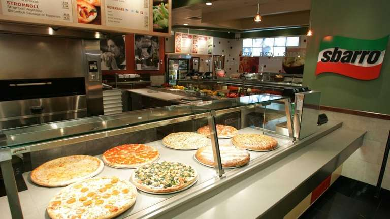 Sbarro, the Italian food chain, has shut outlets