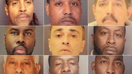 Suffolk's East End Heroin Task Force arrested nine