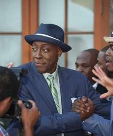 Arsenio Hall's current late-night talk show was canceled