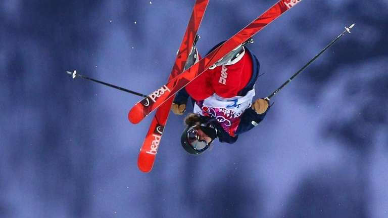 Maddie Bowman of the United States competes in