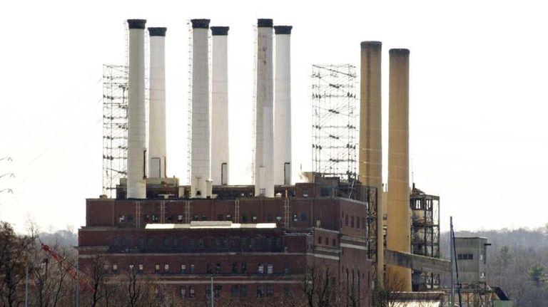 The Glenwood Landing power plant in 2011.