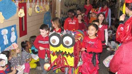 In Deer Park, second-graders at May Moore Primary