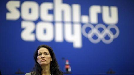 Former Olympic figure skater Nancy Kerrigan takes a
