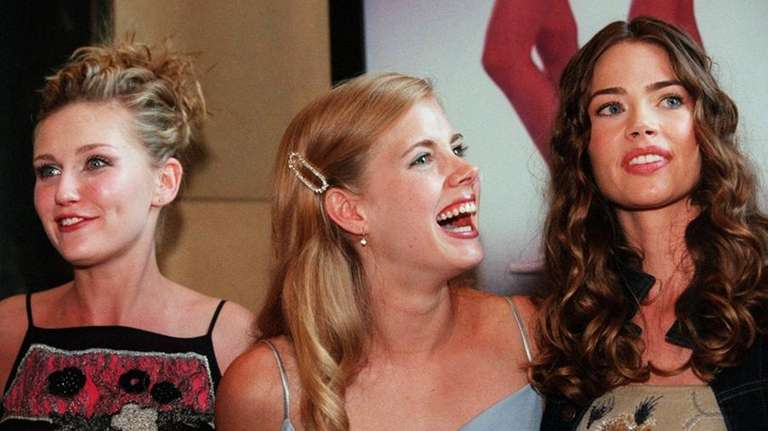 From left, Kirsten Dunst, Amy Adams and Denise